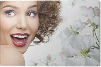 Tableau PVC Woman beauty