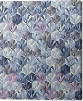 Tableau sur toile 3d motif géométrique parfaite.