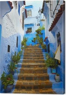 Tableaux Sur Toile Bleu Majorelle Au Maroc Pixers Nous