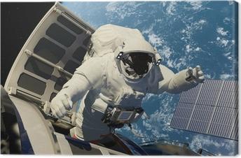 Tableau sur toile Accès à l'espace.