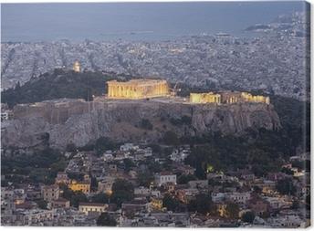 Tableau sur toile Acropole et le Parthénon, Athènes, Grèce