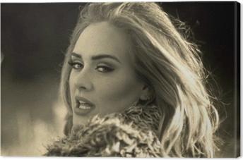 Tableau sur toile Adele