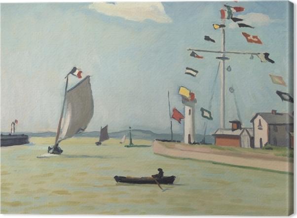 Tableau sur toile Albert Marquet - Honfleur - Reproductions
