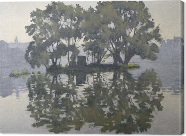 Tableau sur toile Albert Marquet - Île aux Cygnes - Reproductions