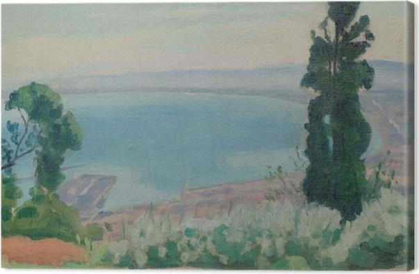 Tableau sur toile Albert Marquet - La baie d'Alger, vue d'El-Biar - Reproductions
