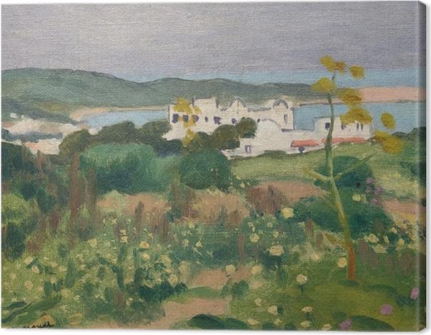 Tableau sur toile Albert Marquet - Marquet L'Archevêché, Sidi-Bou-Saïd - Reproductions