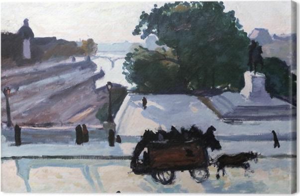 Tableau sur toile Albert Marquet - Paris. Le Pont Neuf en été. - Reproductions