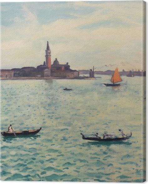 Tableau sur toile Albert Marquet - Venise - Reproductions