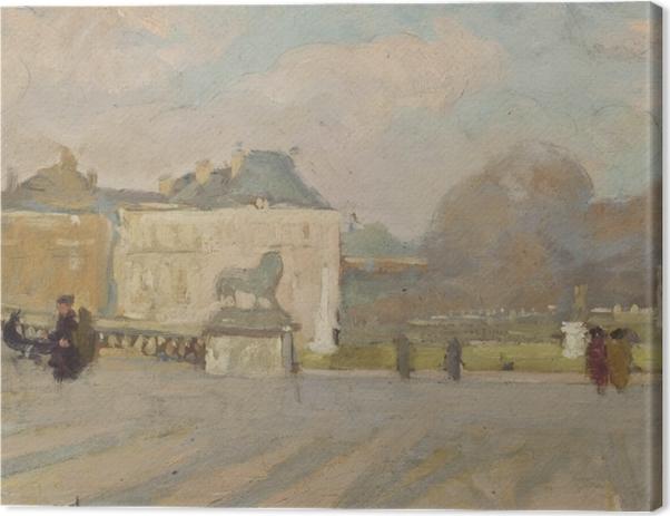 Tableau sur toile Albert Marquet - Vue du Palais du Luxembourg - Reproductions