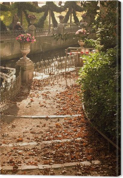 Tableau sur toile Allée du Jardin du Luxembourg à Paris • Pixers ...
