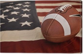 Tableau sur toile American football