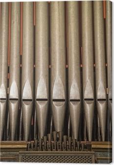 Tableau sur toile Ancien orgue de l'église italienne antique