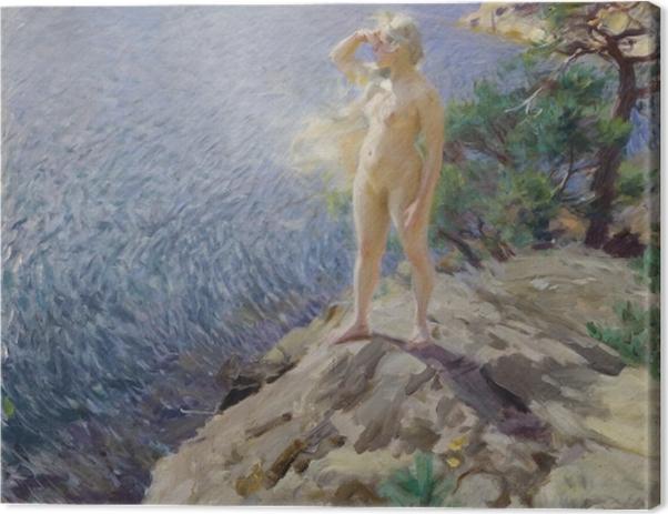Tableau sur toile Anders Zorn - Dans les Skerries - Reproductions