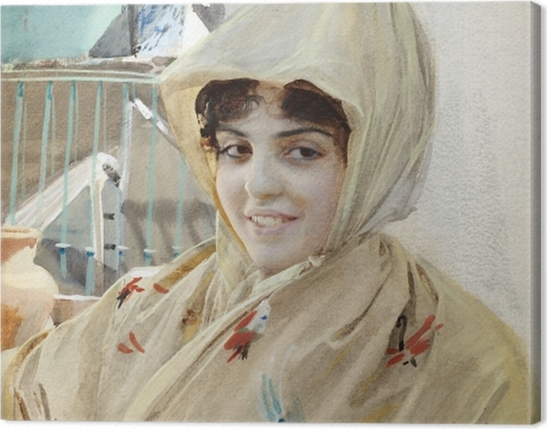 Tableau sur toile Anders Zorn - Mathilde - Reproductions