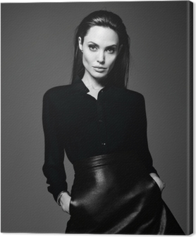 Tableau sur toile Angelina Jolie