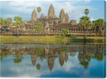 Tableau sur toile Angkor Wat, Siem Reap, Cambodge.