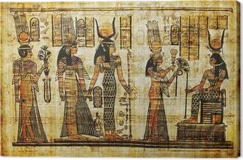 Tableau sur toile Antique parchemin égyptien