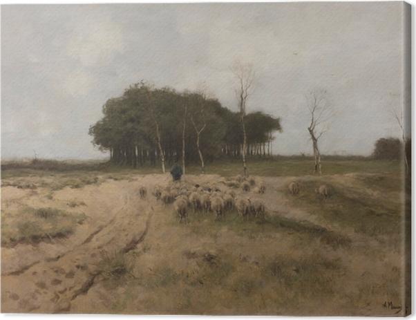 Tableau sur toile Anton Mauve - Chaleur à Laren - Reproductions