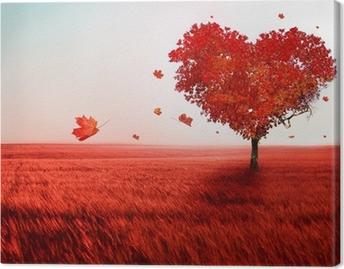 Tableau sur toile Arbre de l'amour