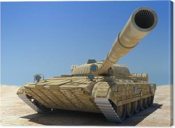 Tableau sur toile Army Tank