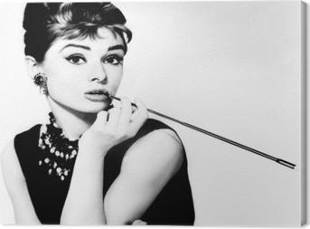 Tableau sur toile Audrey Hepburn