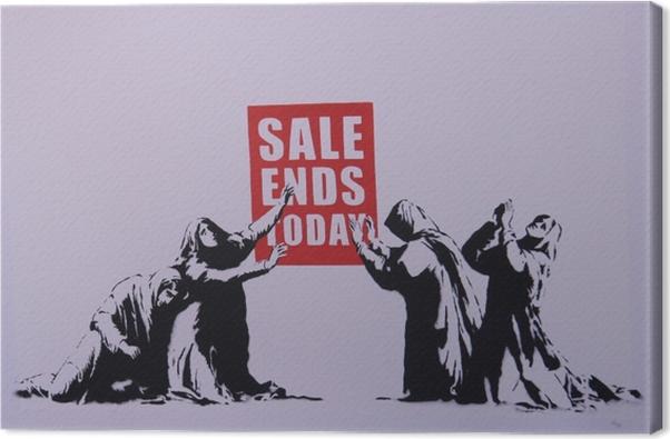 Tableau sur toile Banksy - Thèmes