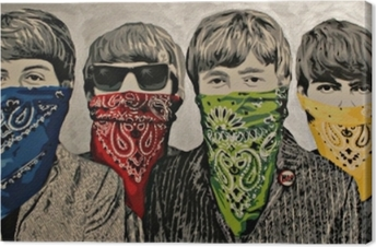 Tableau sur toile Banksy