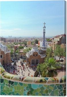 Tableau sur toile BARCELONE, ESPAGNE: Le célèbre Parc Guell