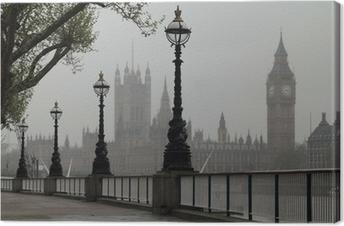 Tableau sur toile Big Ben et Houses of Parliament
