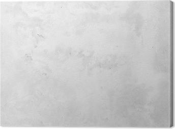 Tableau sur toile Blanc mur de béton