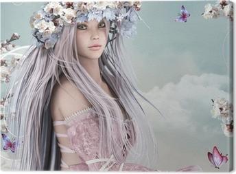Tableau sur toile Blossom Girl