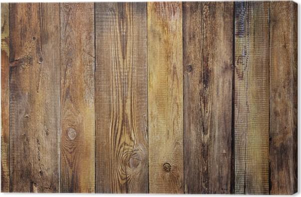 Tableau sur toile bois texture planche fond de grain table de