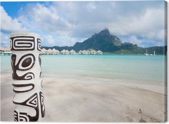 Tableau sur toile Bora Bora