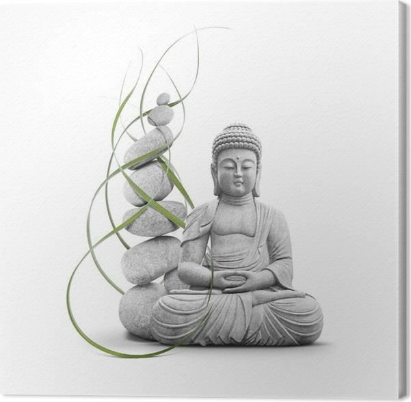 tableau sur toile bouddha et bien tre pixers nous vivons pour changer. Black Bedroom Furniture Sets. Home Design Ideas