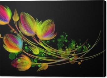 Tableau sur toile Bouquet lumineux