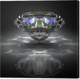 Tableau sur toile Brillant diamant