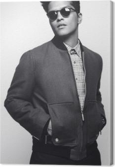 Tableau sur toile Bruno Mars