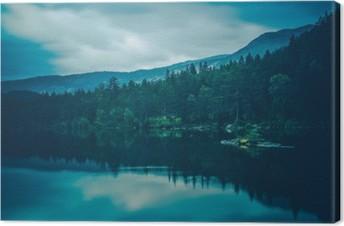 Tableau sur toile Calme Lac Paysage