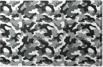 Tableau sur toile Camouflage Seamless