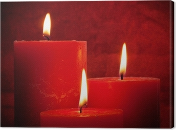 Tableau sur toile Candlelight