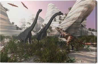 Tableau sur toile Carnotaurus