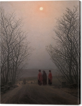 Tableau sur toile Caspar David Friedrich - Matin de Pâques