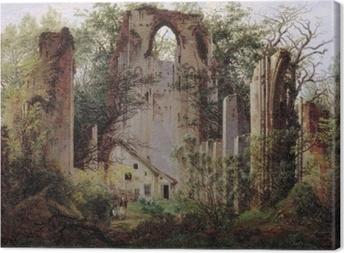 Tableau sur toile Caspar David Friedrich - Ruine du monastère Eldena