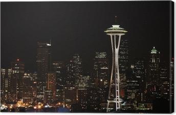 Tableau sur toile Centre-ville de Seattle