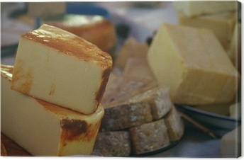 Tableau sur toile Cheeses