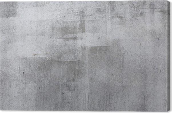 tableau sur toile ciment texture du mur fond b ton brut. Black Bedroom Furniture Sets. Home Design Ideas