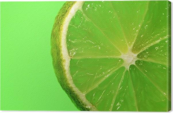 Tableau sur Toile Citron vert - Destin
