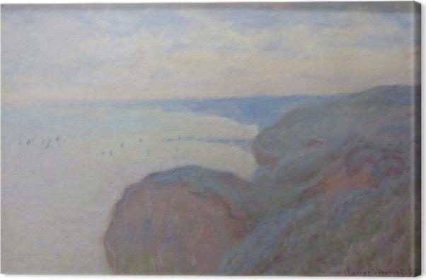 Tableau sur toile Claude Monet - Falaises près de Dieppe - Reproductions