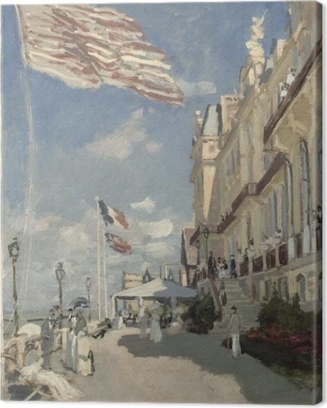 Tableau sur toile Claude Monet - Hôtel des Roches Noires - Reproductions