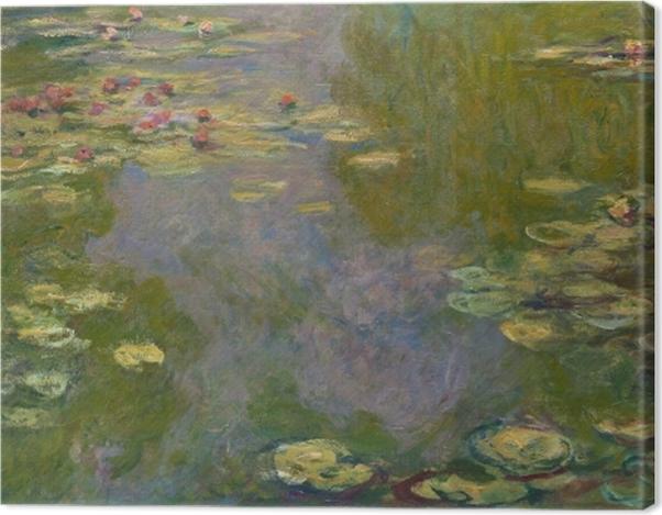 Tableau sur toile Claude Monet - L'étang de nénuphar - Reproductions